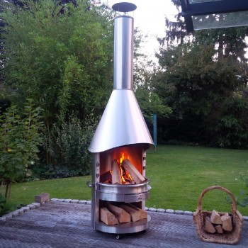 BBQ-Fireplace in Germany