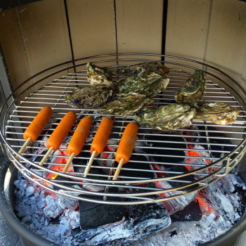BBQ-Fireplace in Japan
